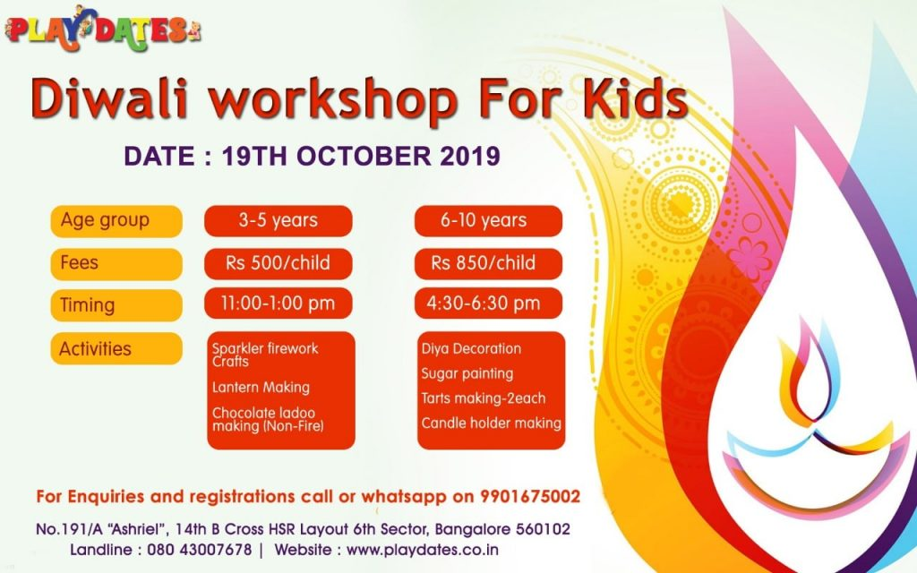 Fun Workshops For Kids in Bangalore